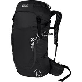 Jack Wolfskin Crosstrail 28 LT Backpack, zwart